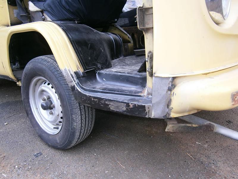 Kombi-rust-repair