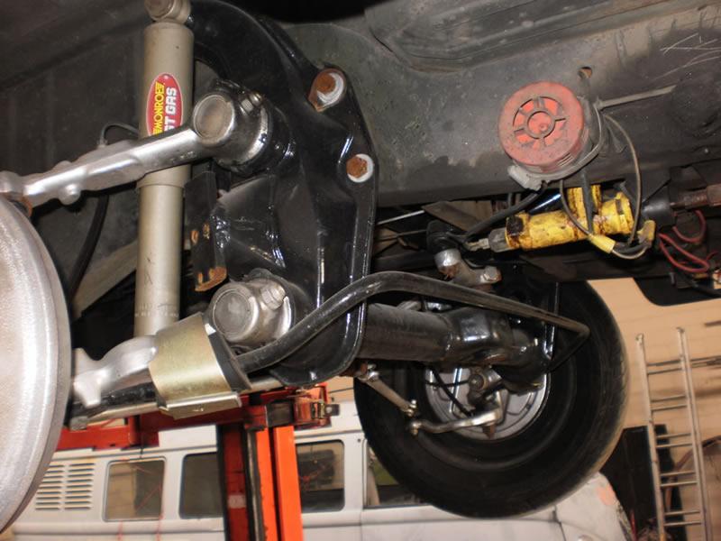 Kombi-suspension-modifications
